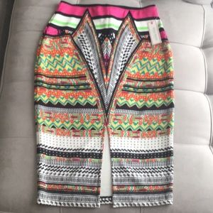 Bisou Bisou Women's Stretch Skirt Size Small